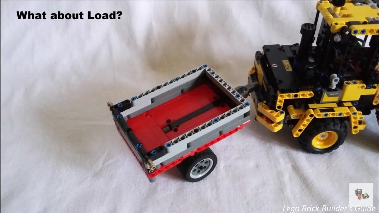 lego technic small trailer for 42053 volvo l30g moc. Black Bedroom Furniture Sets. Home Design Ideas