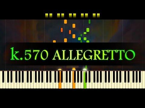 Piano Sonata No. 17, K (3rd mvt) // MOZART