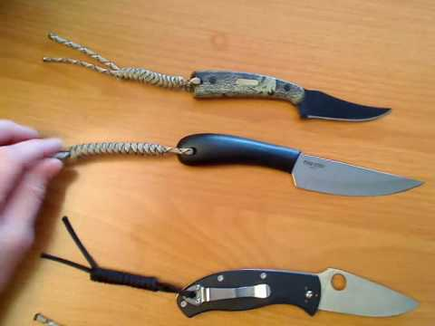 I Learned How To Make Knife Lanyards Today Youtube