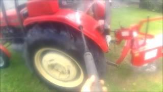 speed work mycie ciągnika