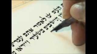 Como é feito o pergaminho da Torá?