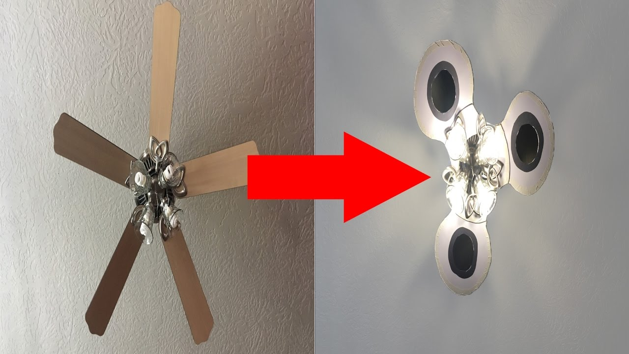 Turning My Fan Into A Fidget Spinner Youtube