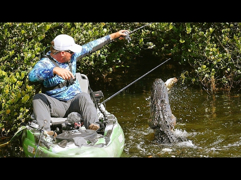 Found Secret Fishing Spot Infested With Alligators! (Worlds Best Bass Fisherman) | DALLMYD