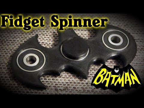 DIY FIDGET SPINNER BATMAN