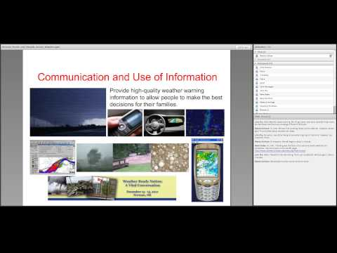 Extreme Events and Hazards: Severe Weather 07/18/2013