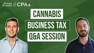 Cannabis Taxes & Cannabis Business Q&A [Cannabis Accounting]