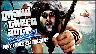 GTA V - O WALLRIDE do TARZAN, Davy Jones no CIPÓ?