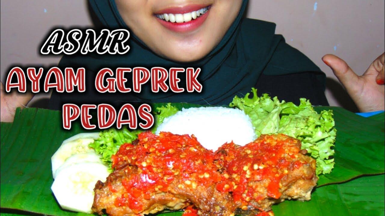 AYAM GEPREK level pedas mampus ASMR INDONESIA - YouTube