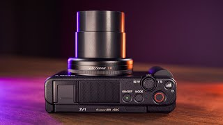 SONY ZV-1: The ULTIMATE Review