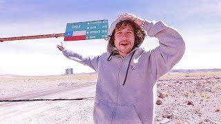 ¿Cómo es cruzar una frontera internacional caminando? | CHILE - ARGENTINA