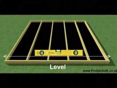 How to lay decking, laying decking, Garden Decking, Decking Kits, ProDeckUK