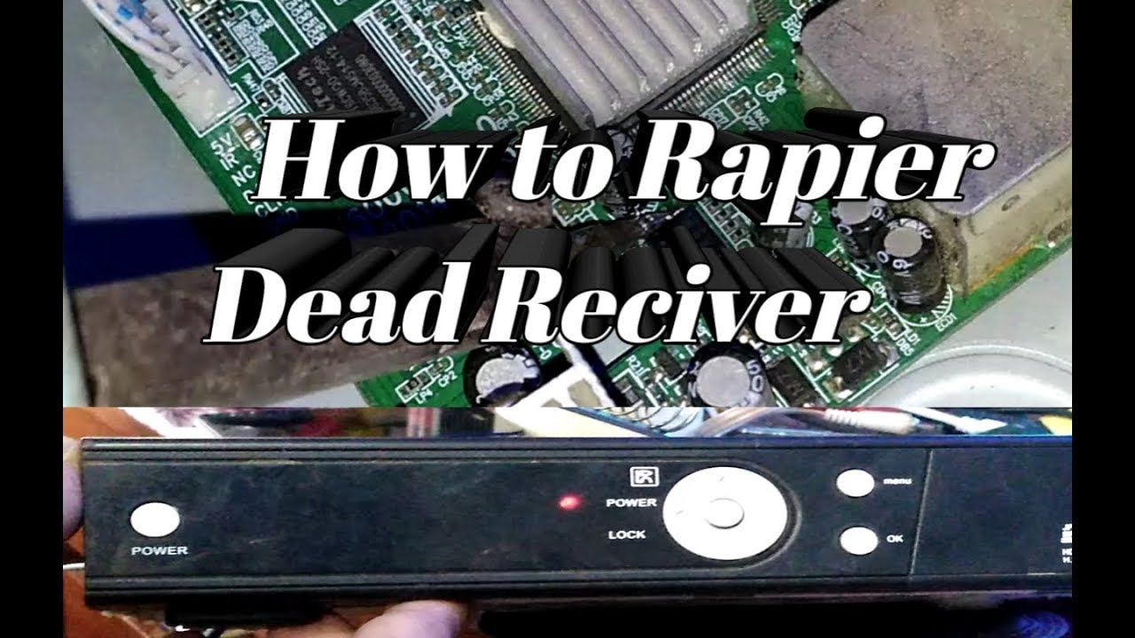 How to Repair Dead Reciver How to Use Reciver Programming Device