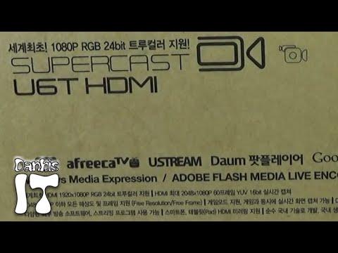 스카이디지탈 슈퍼캐스트 U6T HDMI USB3.0, 캠코더로 유튜브 생방송을 하는 캡쳐보드 리뷰