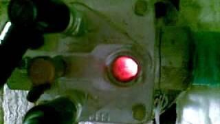 Термическая печь(Печь для обжига свечных изоляторов на ООО