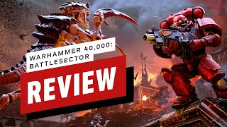 Warhammer 40,000 Battle Sector Review (Video Game Video Review)