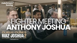 Exclusive Fighter Meeting: Anthony Joshua eyes revenge over Andy Ruiz