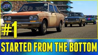 Forza 5 : Top Gear Challenge - STARTED FROM THE BOTTOM AGAIN!!!