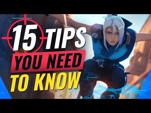 15 INSANE Tips You NEED TO KNOW - Valorant (One Ways, Ability Interactions, Lineups & MORE)
