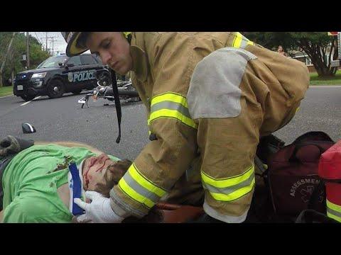 Devastating Motorcycle Accident