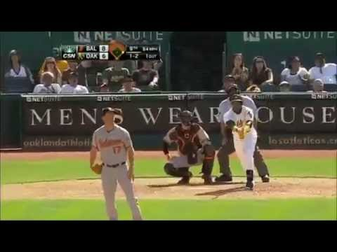 Oakland Athletics | 2013 Home Runs (186)
