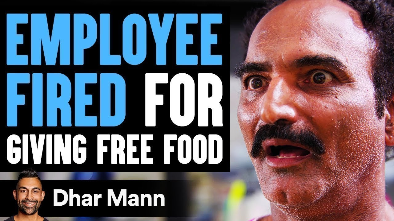 Download Employee FIRED For Giving FREE FOOD, What Happens Next Is Shocking | Dhar Mann