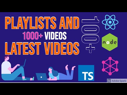 Latest playlist and  Videos with Announcement || Full stack Development || tkssharma