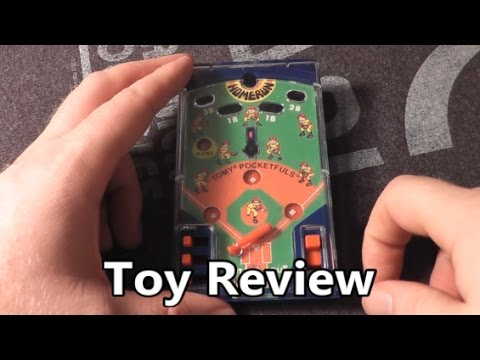 Baseball Tomy Pocket Game Pocketful Toy Review – The No Swear Gamer