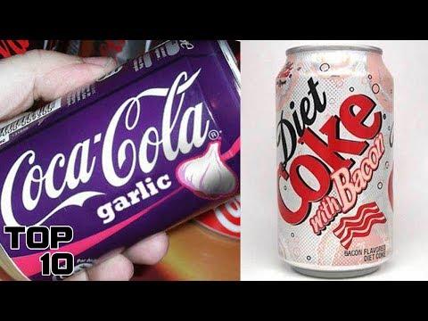 Top 10 Weirdest Coca-Cola Flavors From Around The World