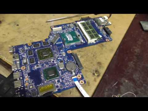 Замена видеочипа ноутбука Sony