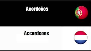 Como eu aprendi Holandês #Tema = Instrumentos de teclas