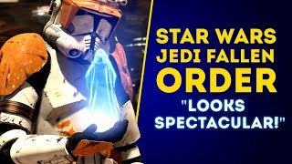 "New Game Star Wars Jedi: Fallen Order ""Looks Spectacular!"" ALL NEW DETAILS!"