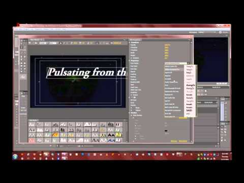 Adobe Premiere CS5.5 - Minecraft Intro - The planet Of Souls -