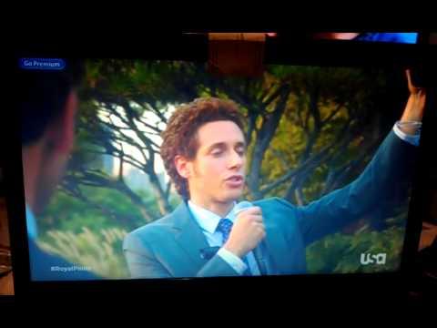 David Poggi  background on Royal Pains season 4 episode 16