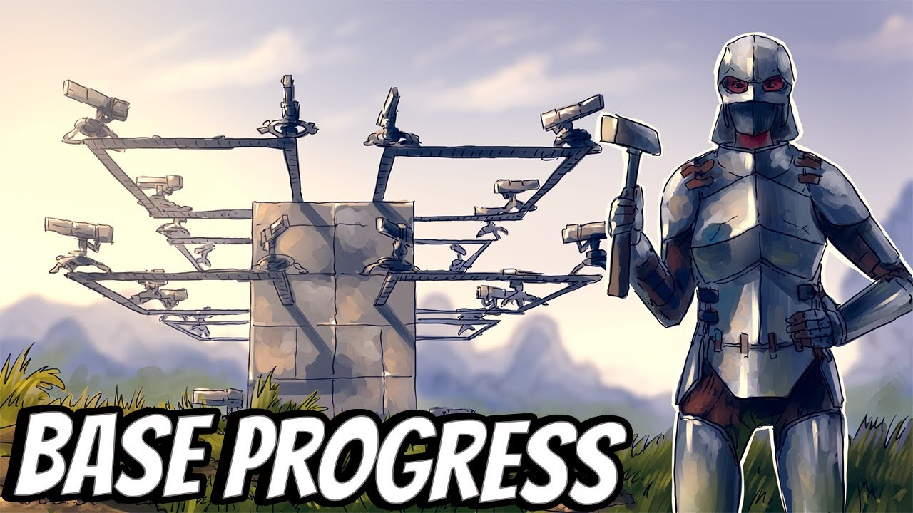 """BIG BASE PROGRESS! DAY 1  - Ark MTS: Ep 4 """"The Calm Before The Storm"""""""