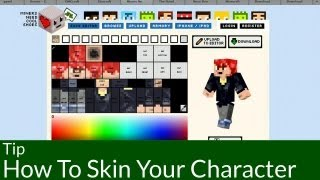 Tip: How To Skin Your Minecraft Player