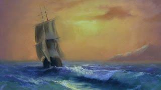 Мастер-класс живописи Морской пейзаж Айвазовский +79818457723