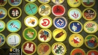 17-year-old Eagle Scout Snags 135 Badges