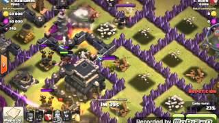 Epic fail clash of clans p.e.k.k.a vs Reyna arquer
