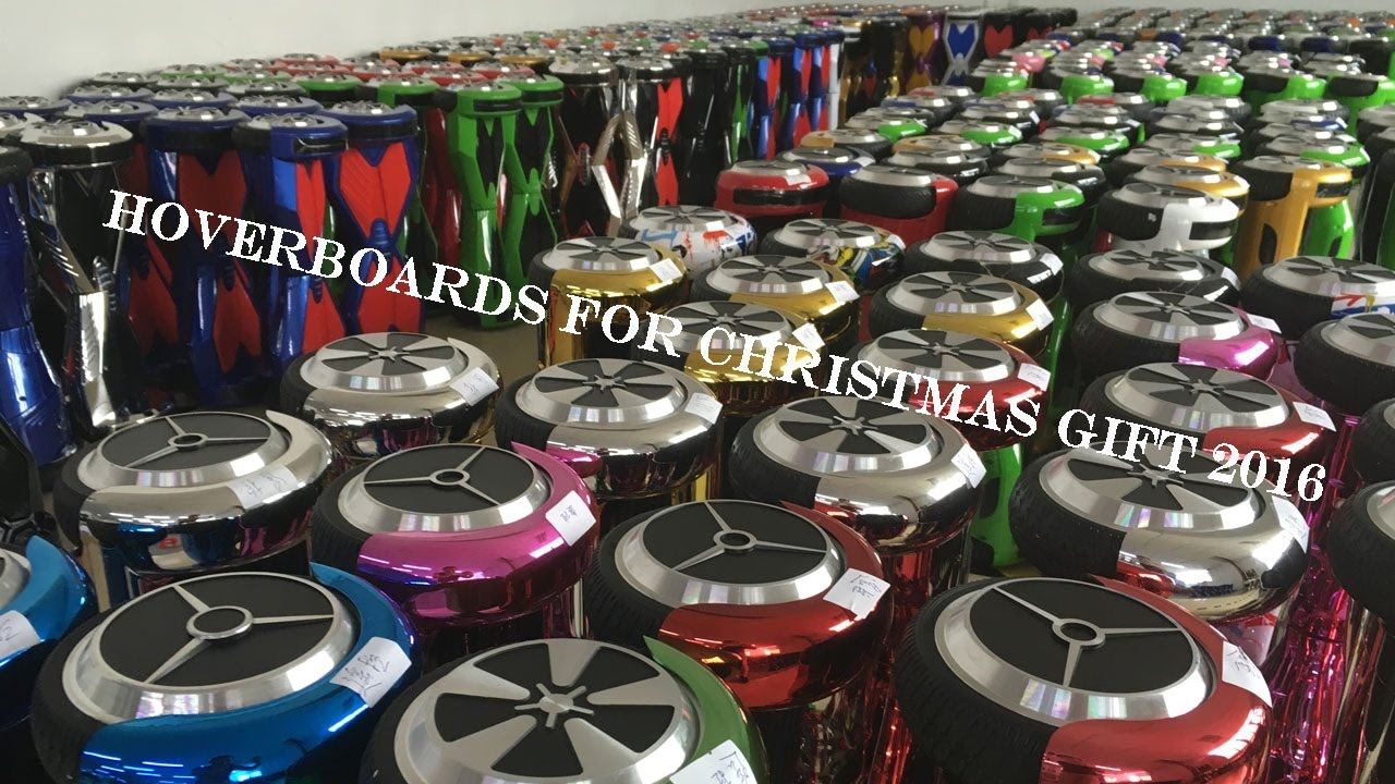Hoverboards For Christmas Gift 2016 - YouTube