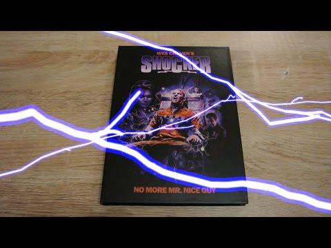 SHOCKER Mediabook Cover A  Wes Craven Horace Pinker Unboxing