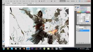 Photoshop Resmi PNG Yapma ( Transparant Arka Plan )