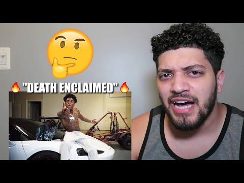 """NBA YOUNGBOY IS BACK, BUT IS HE BETTER? """"DEATH ENCLAIMED"""" (Official Music Video) Reaction!"""