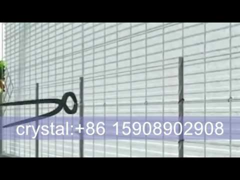 EVG 3D EPS wire mesh panel machine line for building - YouTube
