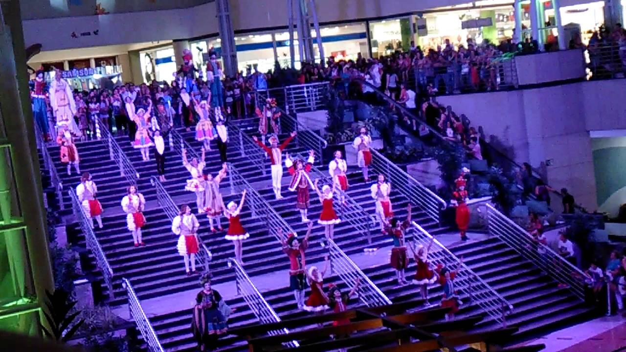 Natal 2015 Parque Dom Pedro Shopping Campinas Sp Parte 2 Youtube
