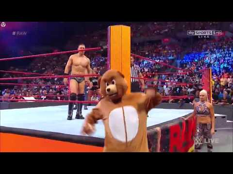 Dean Ambrose Teddy Bear Entrance - RAW 6/12/2017