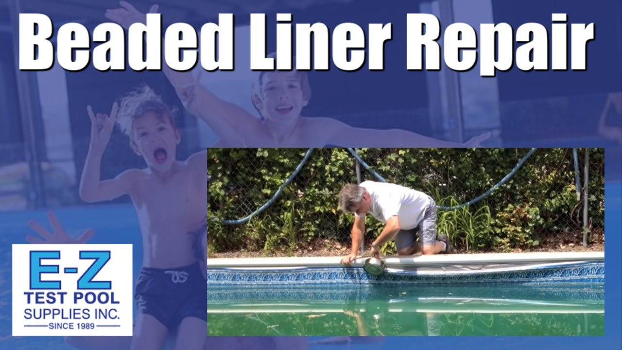 How To Fix A Beaded Liner That Is Out Of Track Vinyl Extrusion