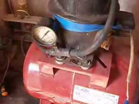 Как сделать самодельный компрессор из домашнего барахла