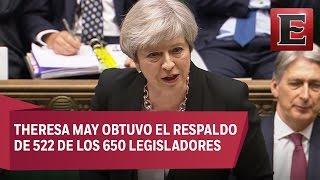 Parlamento británico aprueba realizar elecciones anticipadas
