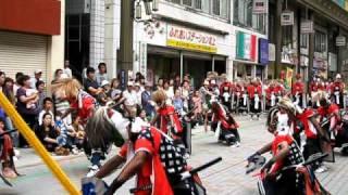 北上湘南高校鬼剣舞部 ふるさと芸能まつり 2010