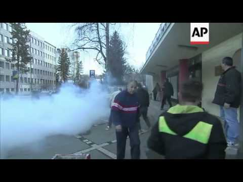 Violent protests spread throughout Bosnia